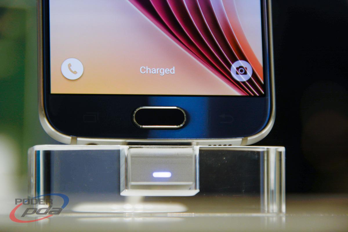 Galaxy S6 cargado
