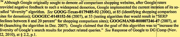 Google contra la competencia