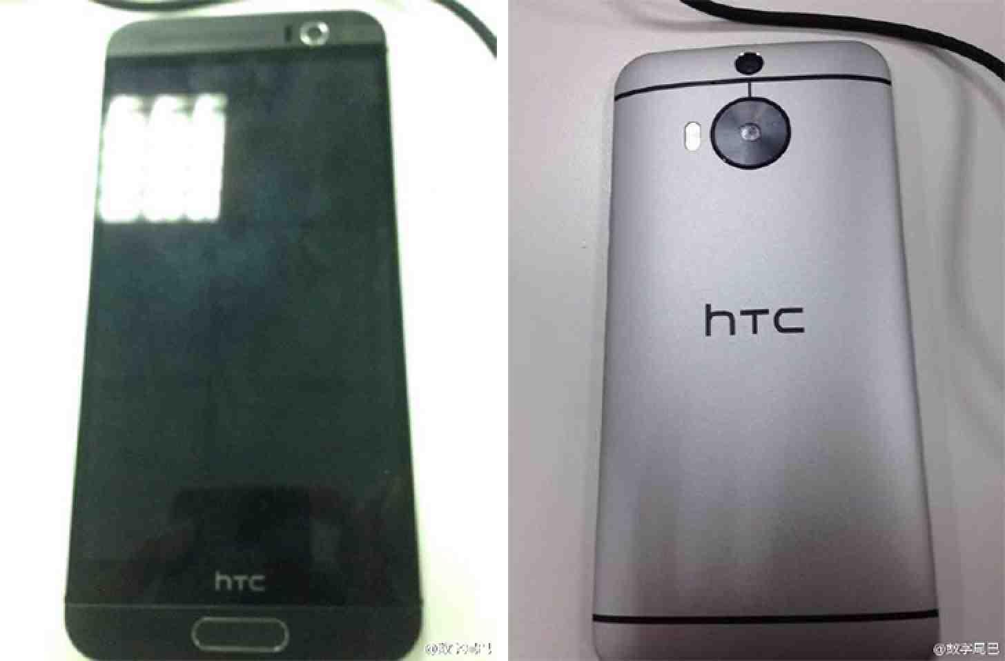 HTC One M9 Plus, fotografía filtrada anteriormente