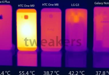 HTC One M9 con sobrecalentamiento a causa de software no finalizado