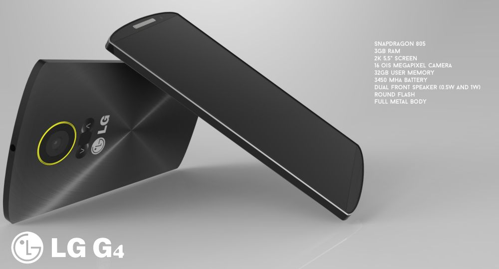 Otro diseño conceptual del LG G4 por Jermaine Smit