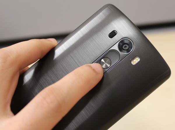 LG G3 podría integrar sensor de huellas dactilares en el botón de encendido
