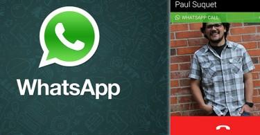 Llamadas de voz por Whatsapp
