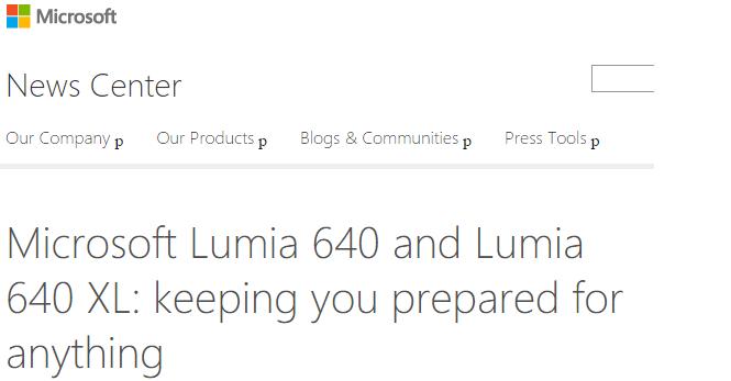 Lumia 640 y 640 XL
