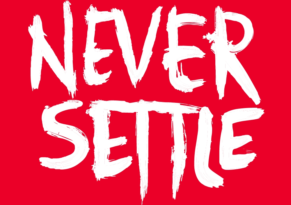 Never-Settle-OnePlus