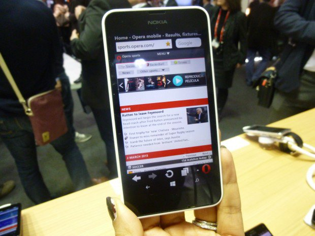 Opera Mini Preview Windows Phone Lumia 640 MWC2015_12