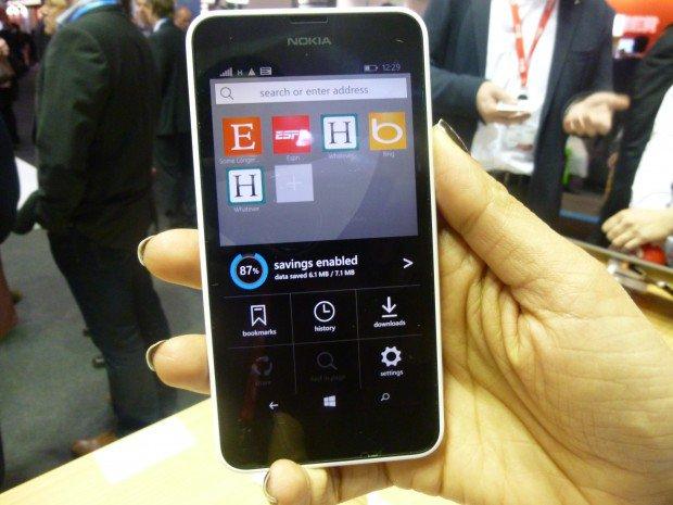 Opera Mini Preview Windows Phone Lumia 640 MWC2015_4