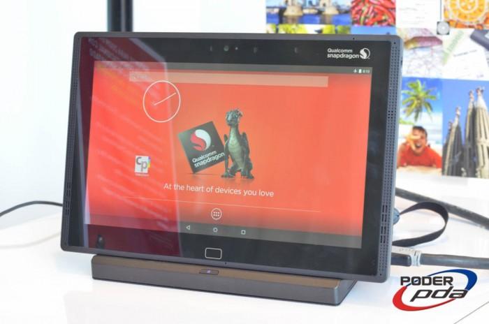 Tablet para demostrar lasmejoras que trae el Snapdragon 810