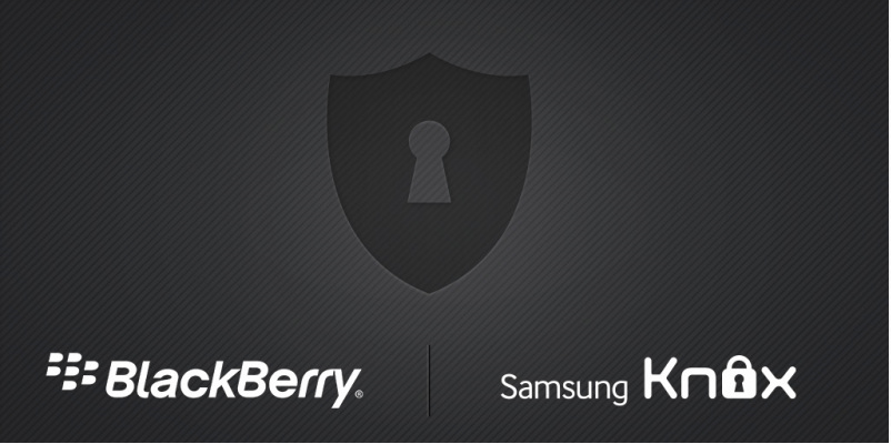 SAMSUNG BlackBerry KNOX
