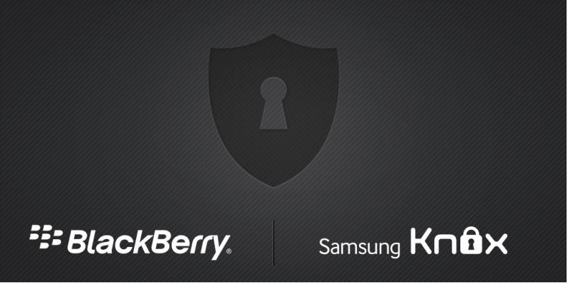 SAMSUNG BlackBerry KNOX