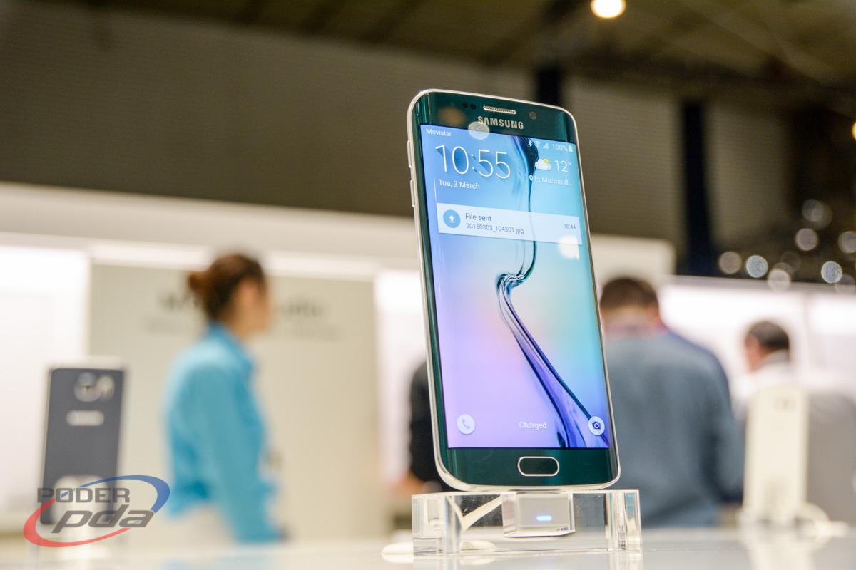 Samsung Galaxy S6 durante el MWC 2015