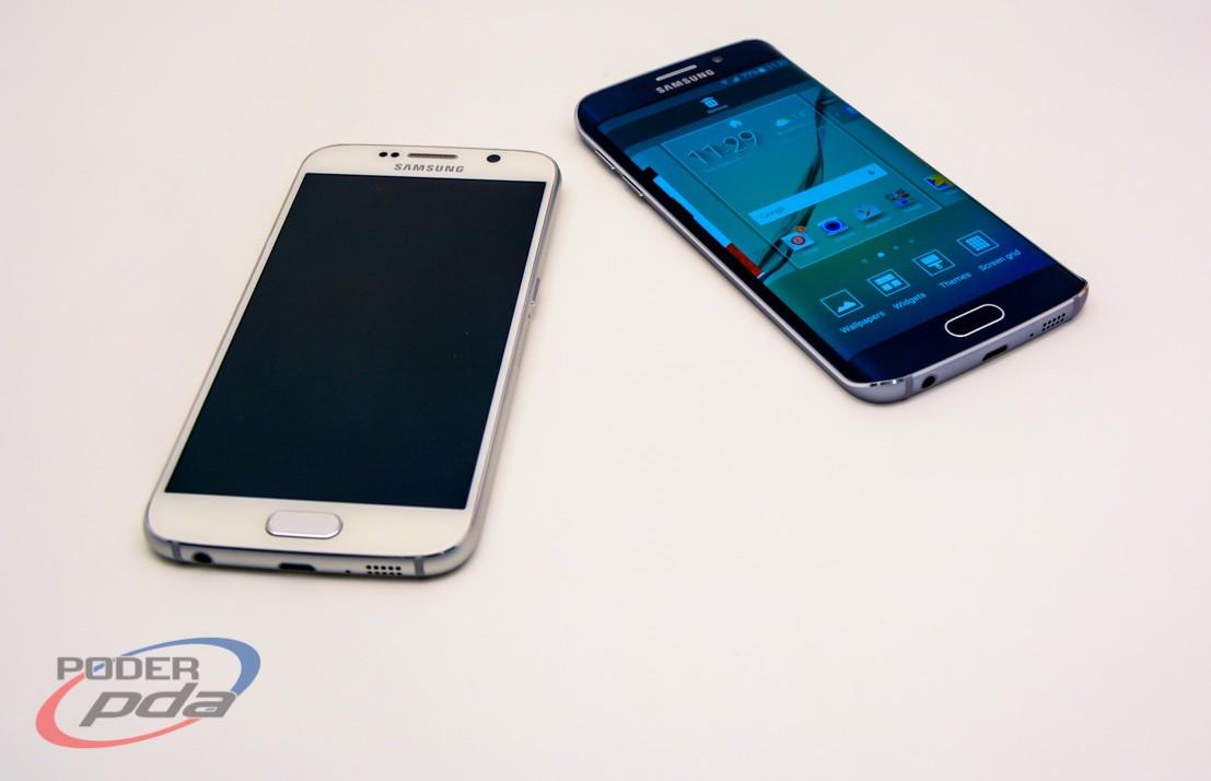 Galaxy S6 y Galaxy S6 Edge durante el MWC 2015