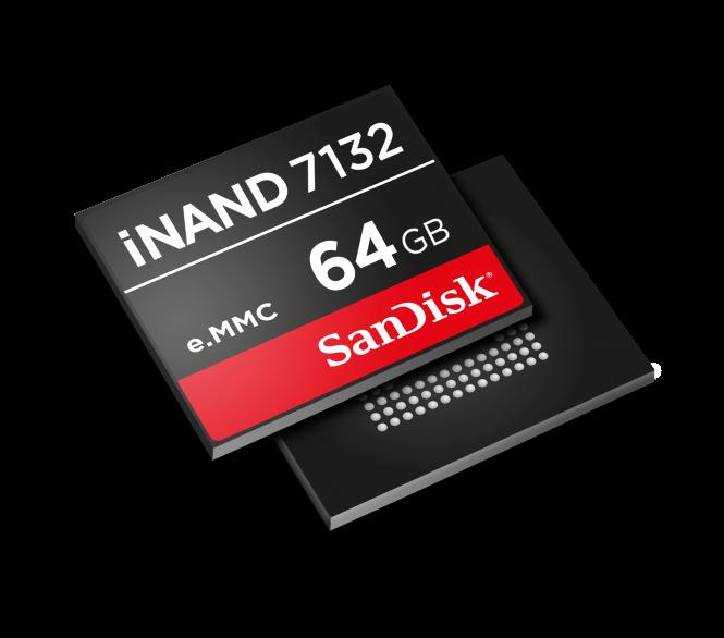SanDisk iNAND 7132 de 64 GB