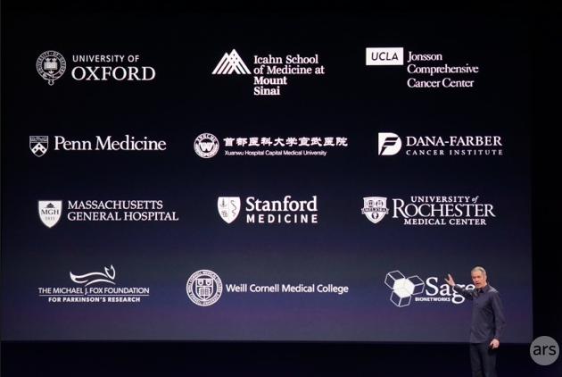 Asociados de Apple para investigaciones médicas