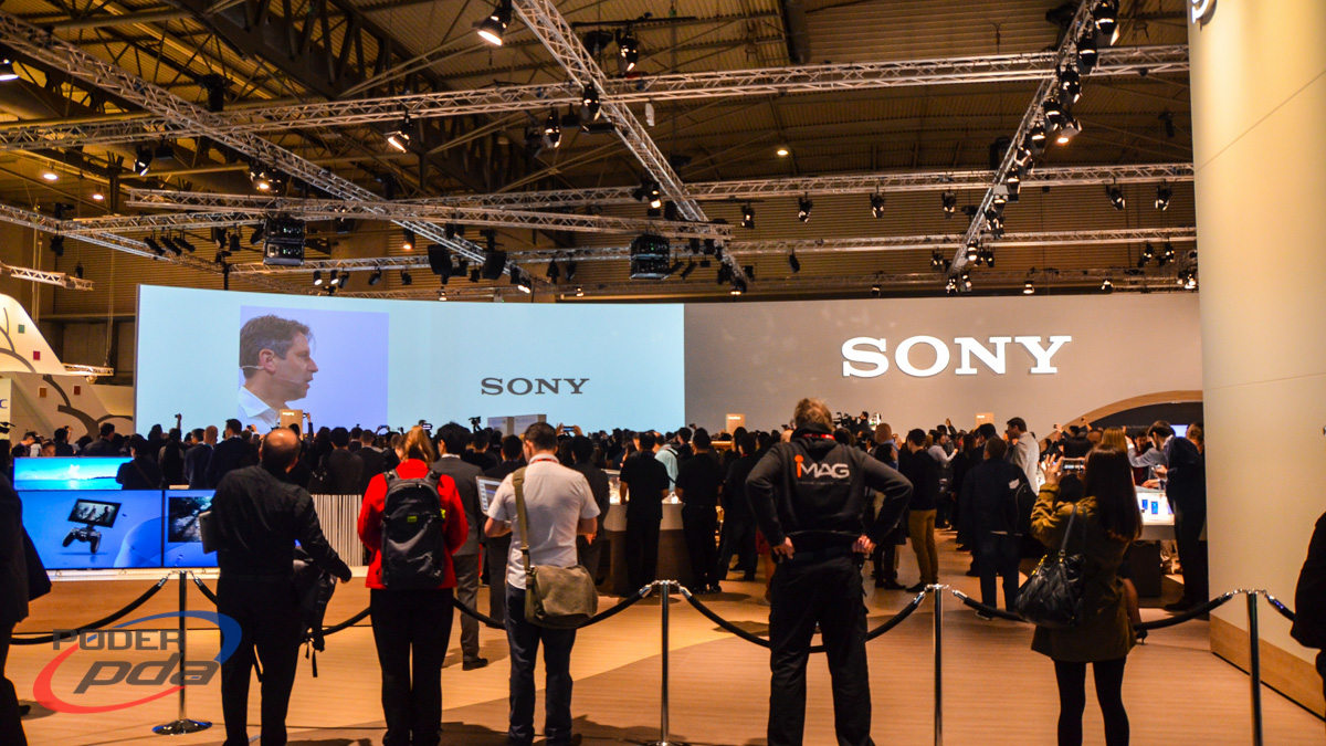 Sony booth MWC2015
