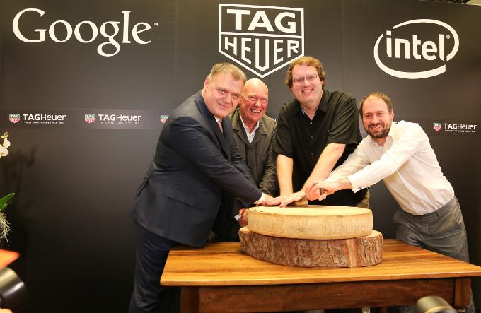TAG Heuer anuncia su alianza con Intel y Google para el desarrollo de su smartwatch