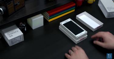 El Galaxy S6 Edge comienza a ser presa de los unboxings