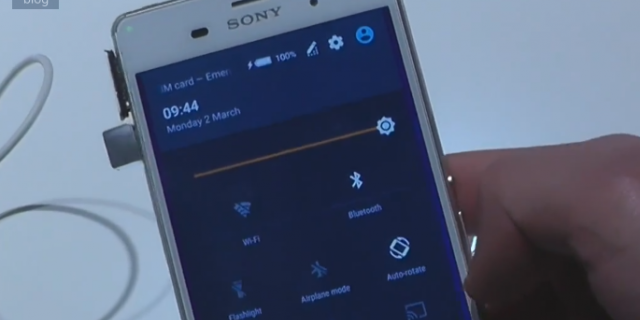 Sony Xperia Z3 con Android 5.0