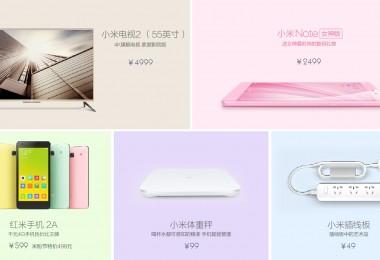 Xiaomi presentó nuevos productos el día de hoy