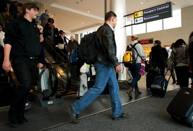 aeropuerto DC reconocimiento facial