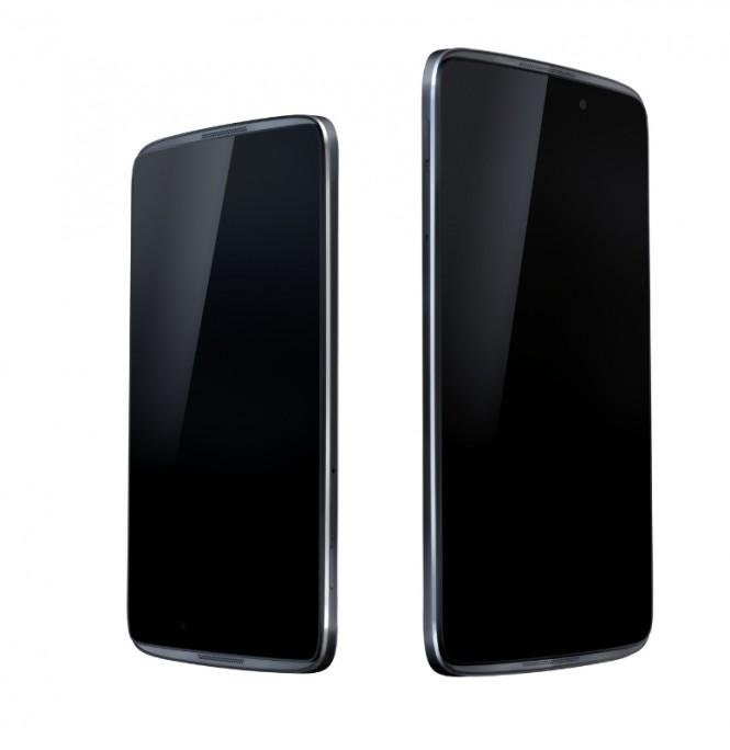 Alcatel OneTouch Idol 3 en sus dos tamaños 4.7 pulgadas y 5.5 pulgadas