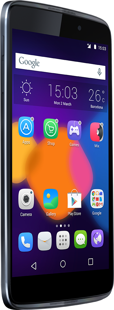 Alcatel Idol 3 con diseño simétrico
