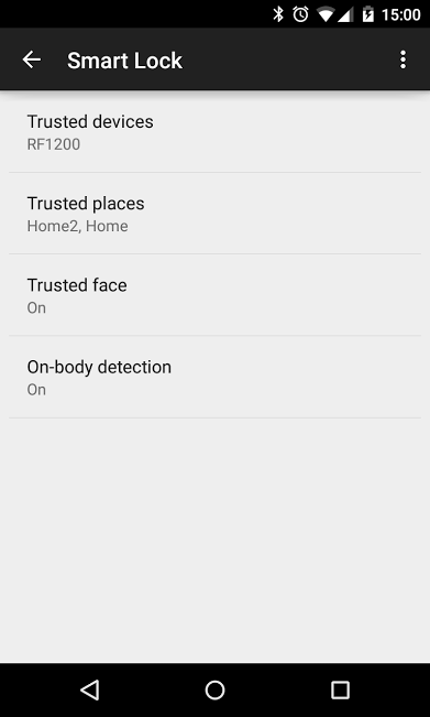 android Smart-Lock