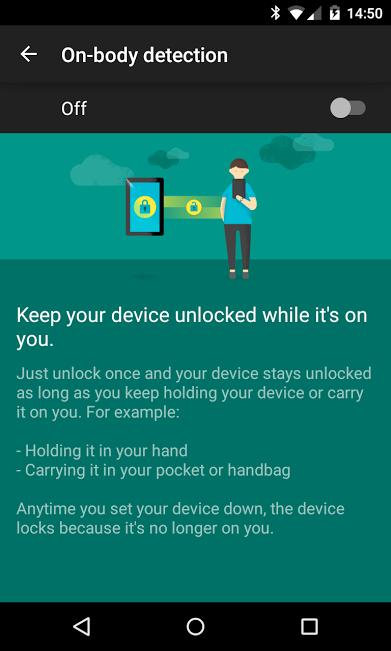 android smartlock nexus