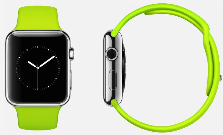 apple watch neon
