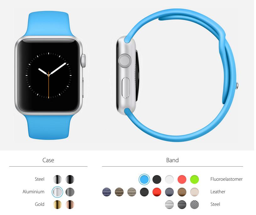 apple watch personalizado