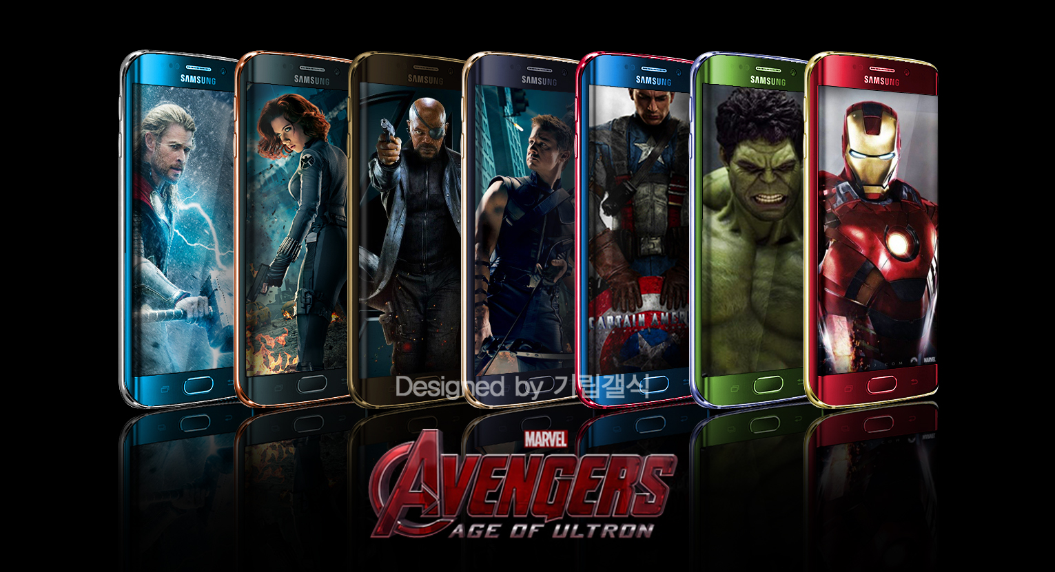 avengers galaxy s6 note