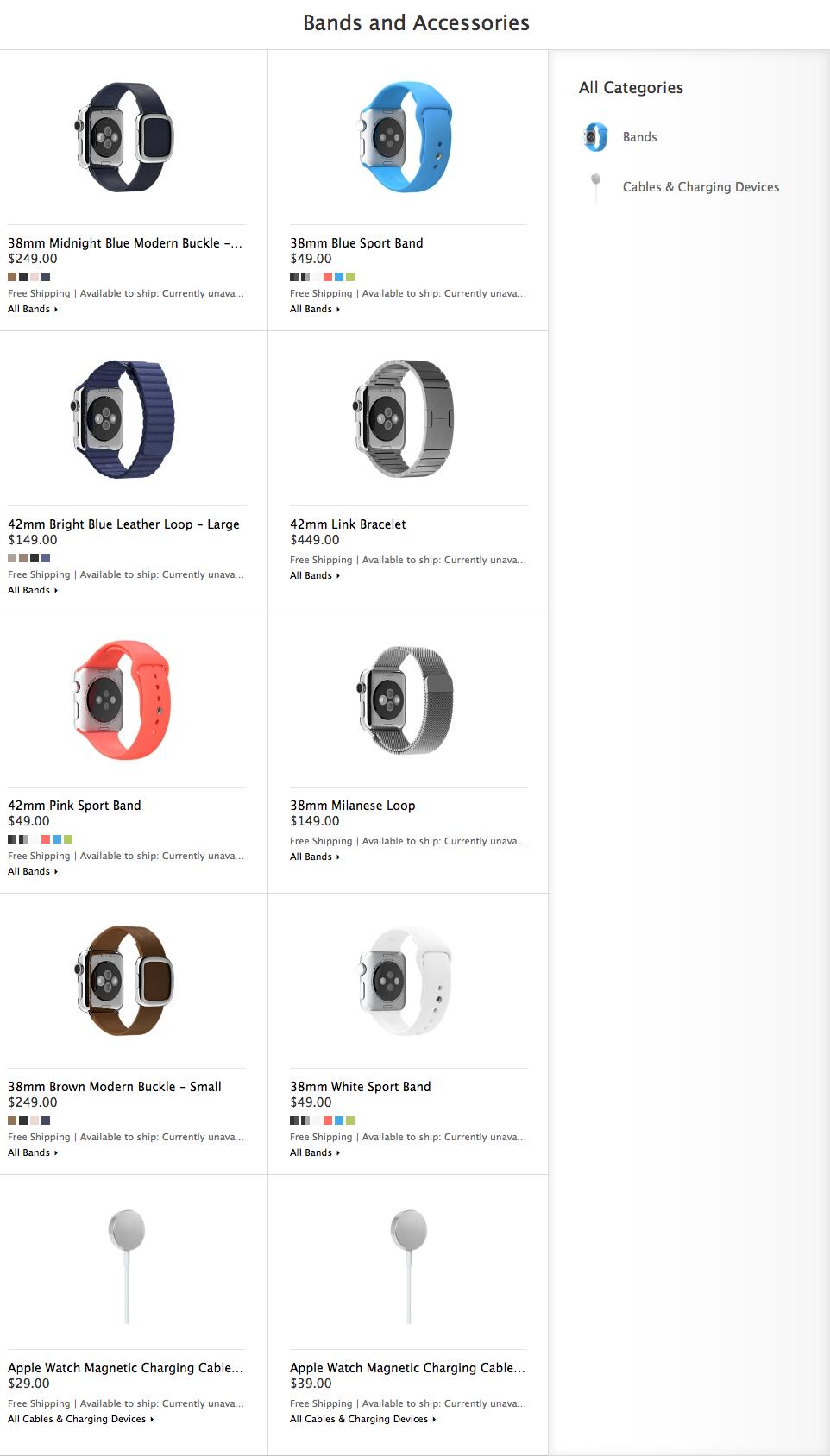 Correas para el Apple Watch