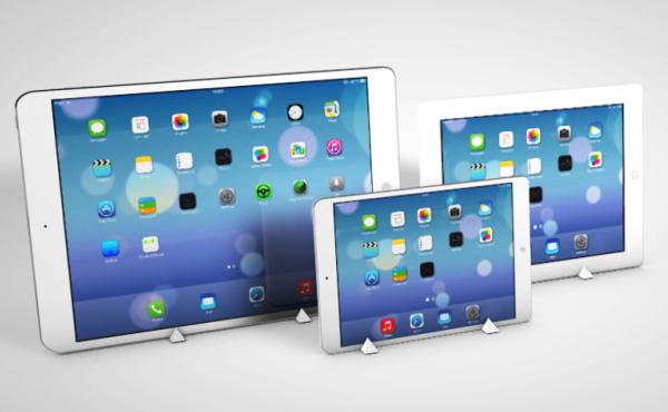 Render conceptual del iPad Pro