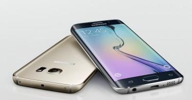 Samsung Galaxy S6 edge con su construcción a base de metal y vidrio