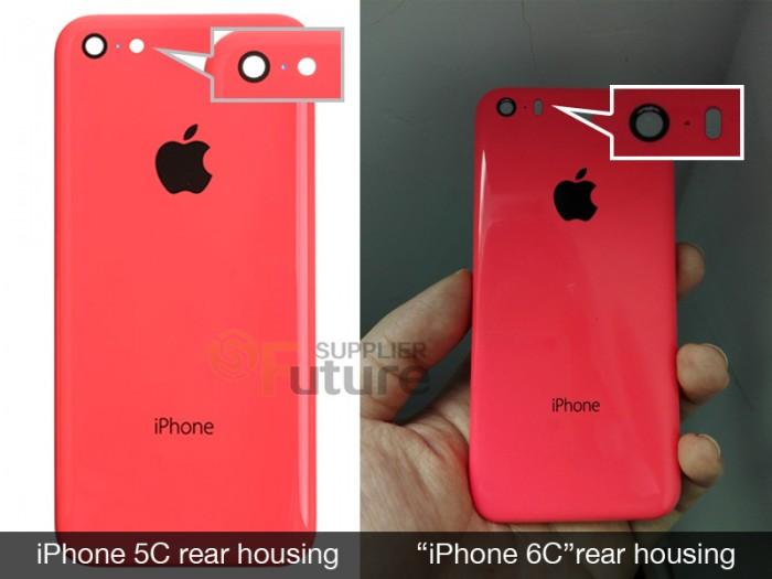 iPhone-6C-cubierta trasera