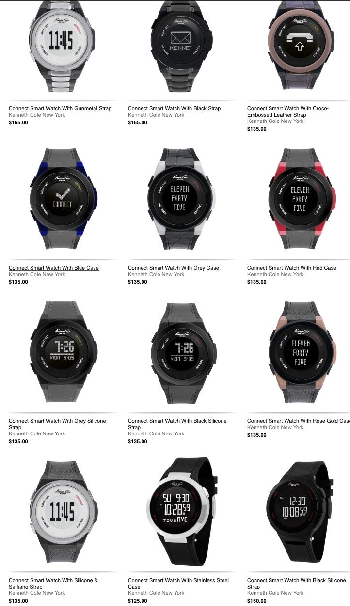 kenneth cole smartwatch