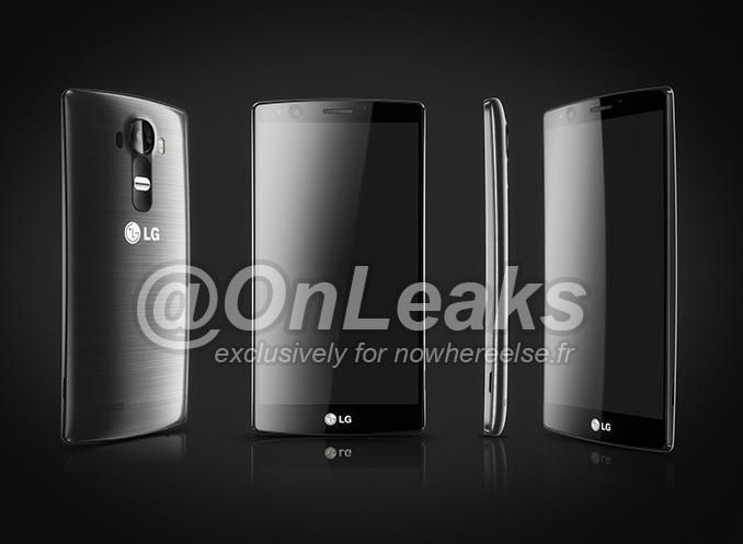 Supuestos renders oficiales del LG G4