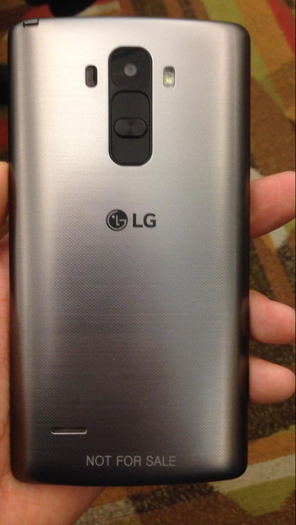 Fotografía del supuesto LG Stylus