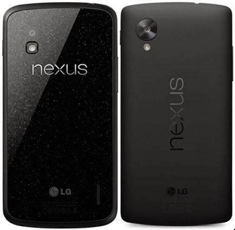 Nexus 4 y Nexus 5 fabricados por LG