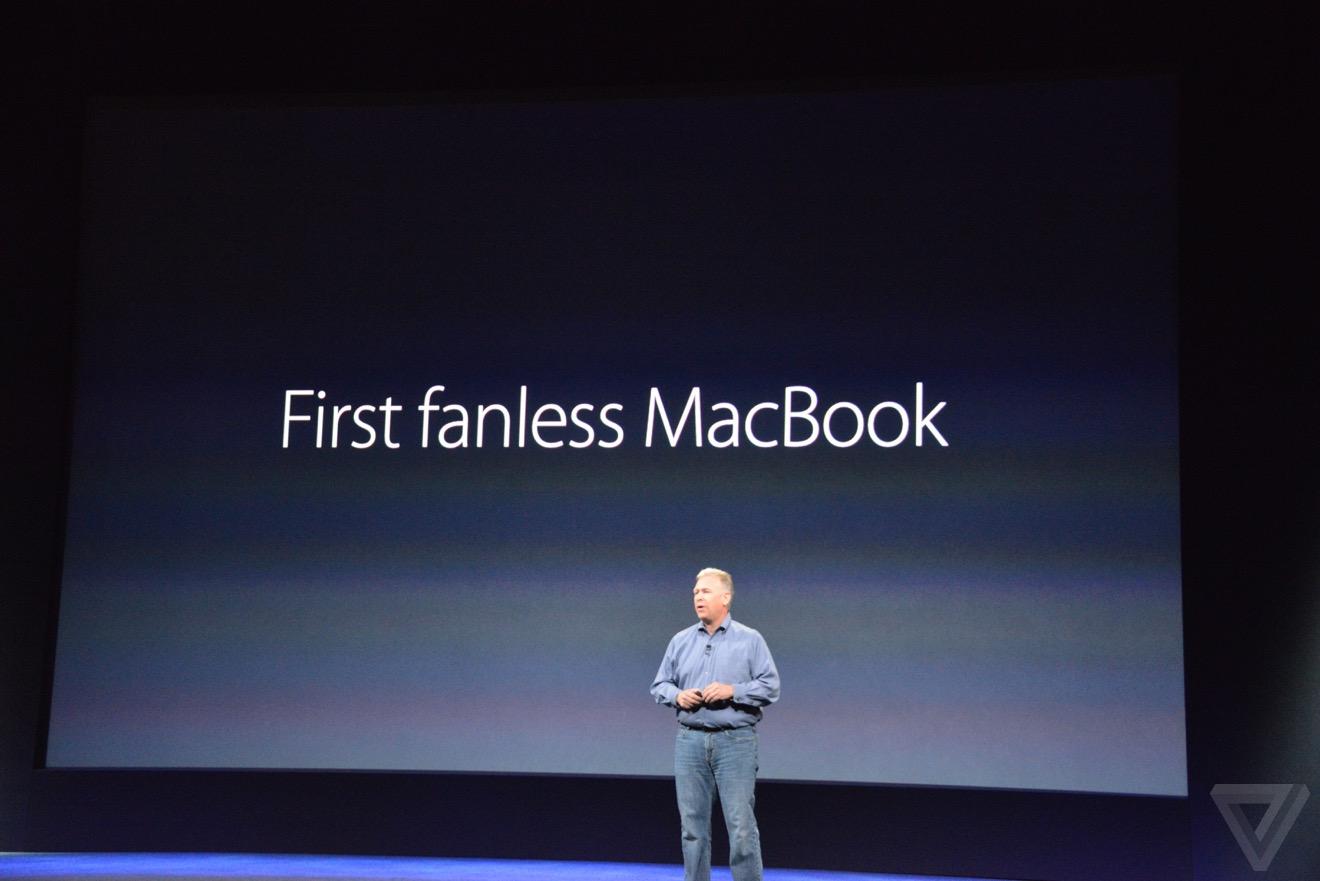 nueva macbook in ventilador