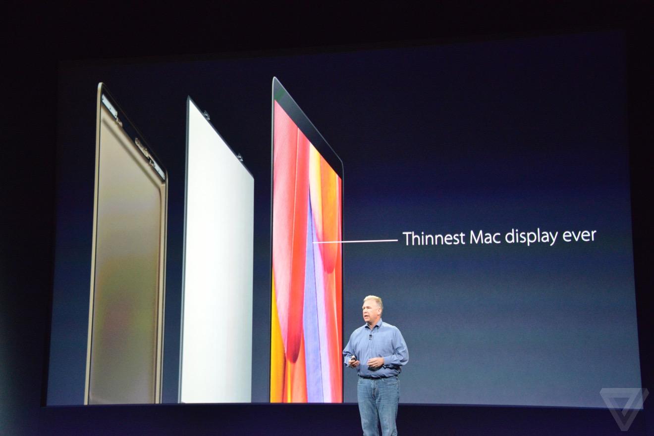 nueva macbook pantalla delgada