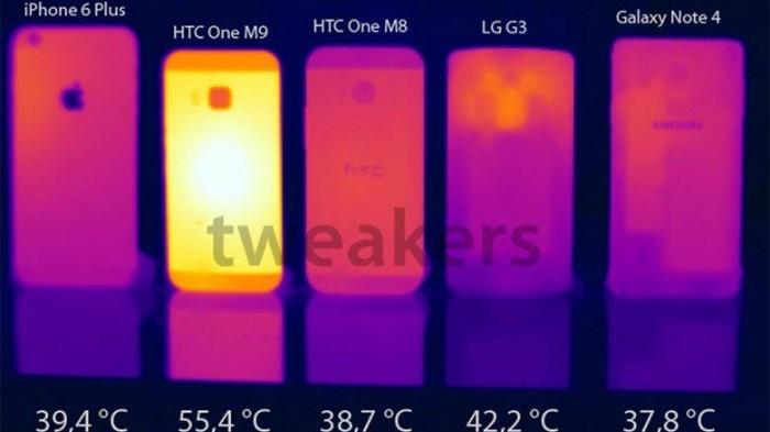 HTC One M9 con aparentes problemas de sobrecalentamiento