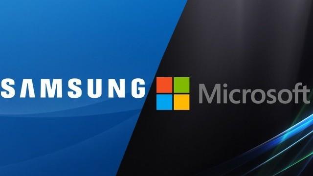 Alianza entre Samsung y Microsoft