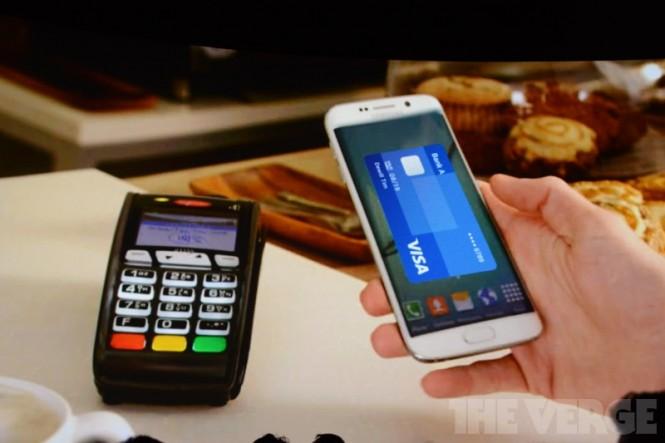 Samsung Pay con tecnología MST