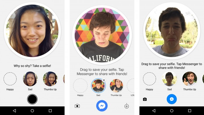 Selfied te permite crear tus propios emoticones