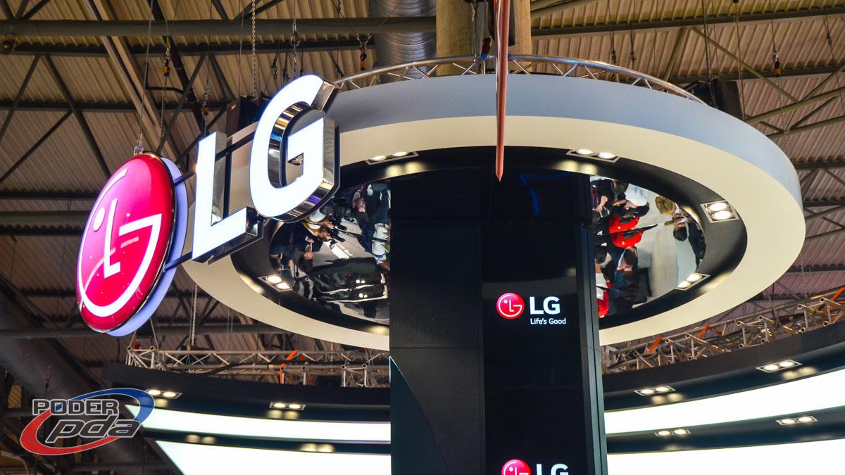 Stand de LG en el MWC 2015