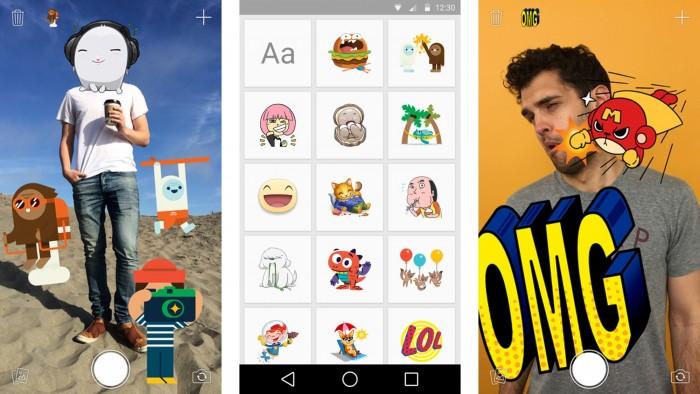 Agrega humos a tus fotos con Stickered (Foto: tiendas de aplicaciones)