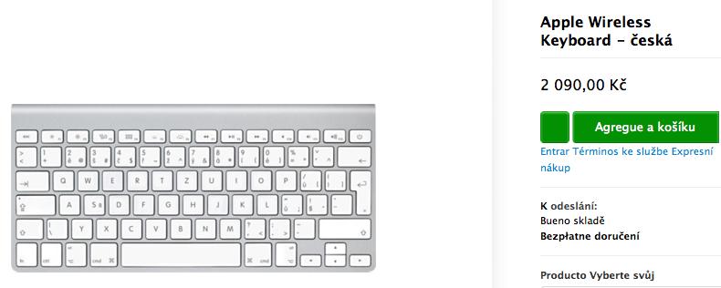 teclado inalambrico de Apple