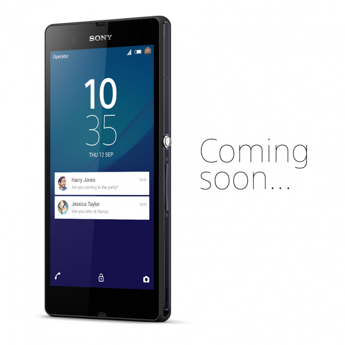 Xperia Z con Android Lollipop