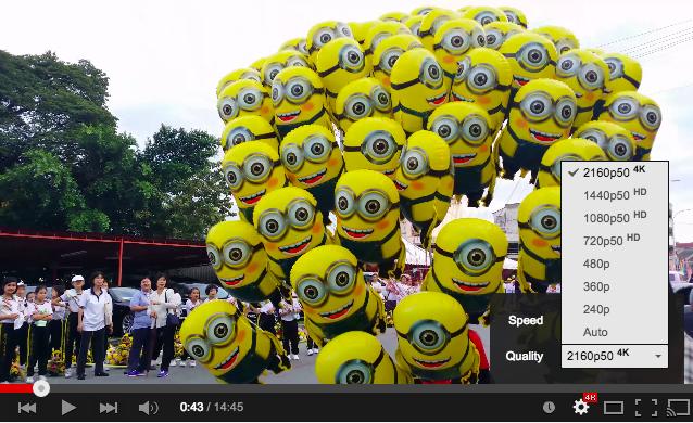 youtube video 4k